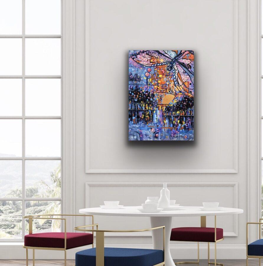 "Glezna ""Mūsu nakts Parīzē"""