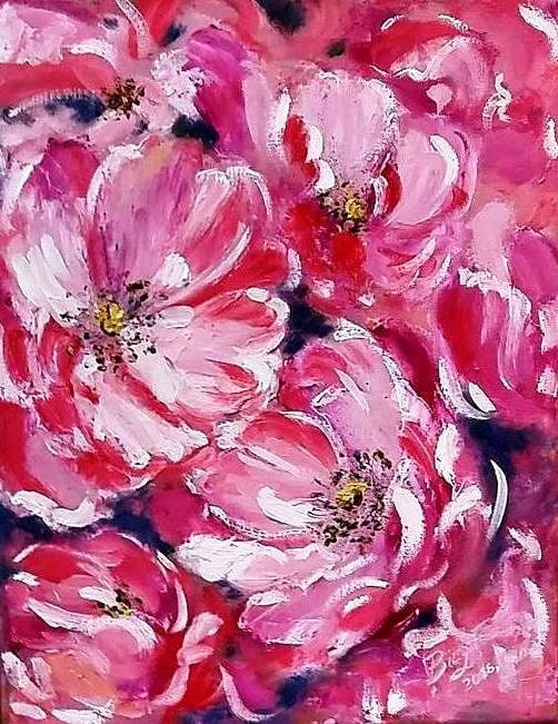 "Painting ""Rosehip"""