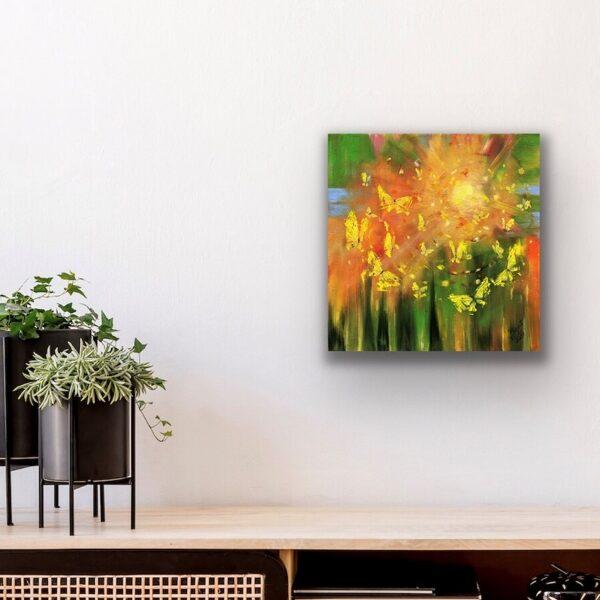 """Glezna """"Iemīlies pavasarī"""""""