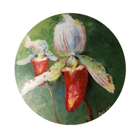 """Glezna """"Orhideja"""""""